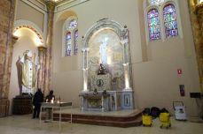 Heiliger Putzkübel und Papst. Alle Ecuadorianer scheinen flammende Papst-Fans zu sein.