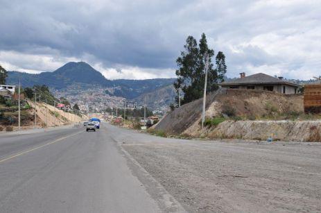 Unterwegs nach Ingapirca