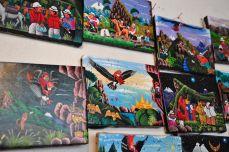 Tigua Paintings