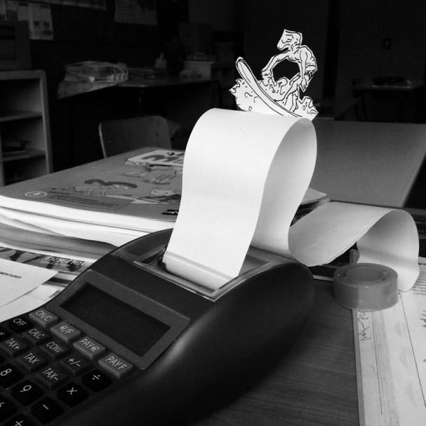 Paper surfer
