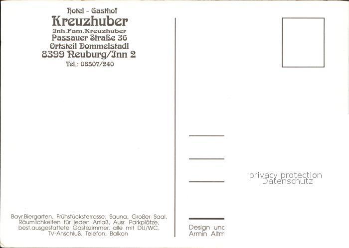 32570890 Neuburg Inn Hotel Kreuzhuber Neuburg a.Inn