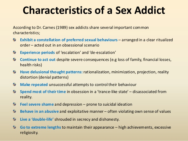 sex addiction the secret obsession