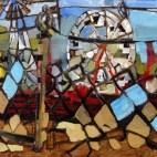 County Fair Maine. Artist Erin McGee Ferrell.Philadelphia-Artist.com