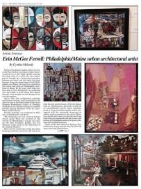 Artistic Journey: Erin McGee Ferrell — Philadelphia/Maine urban architectural artist