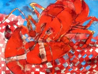 Erin McGee Ferrell. Maine Lobster. http://www.artistamerican.com/
