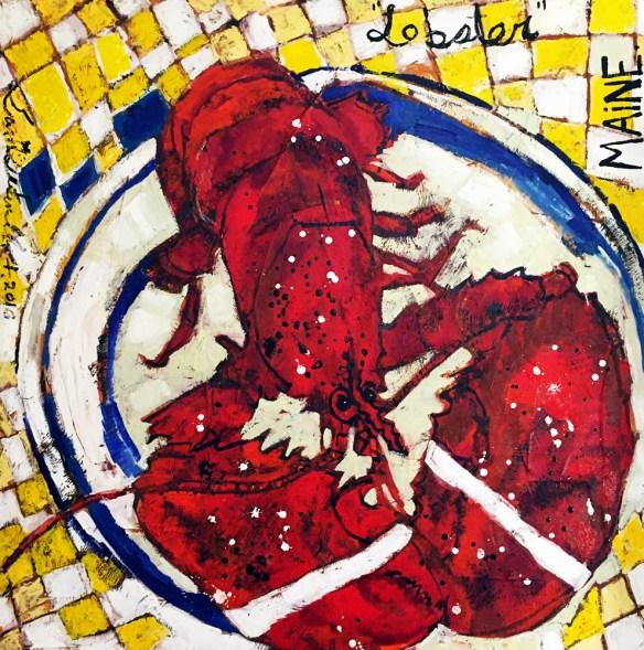 Erin M Ferrell. Lobster