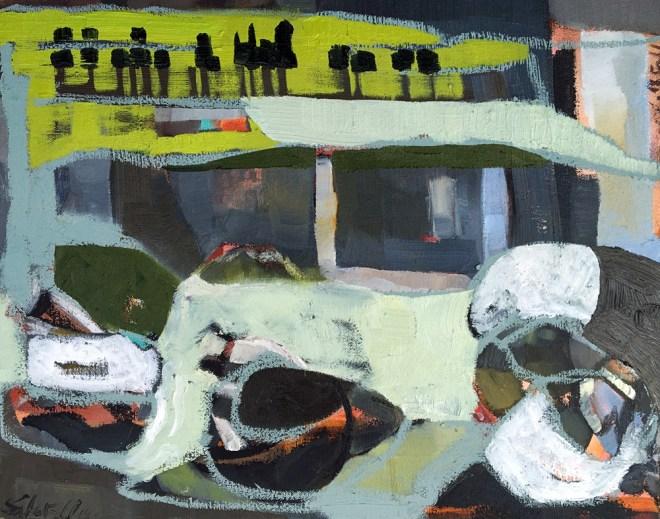 American Painter. Maine Summer. Contemporary Art Outdoors