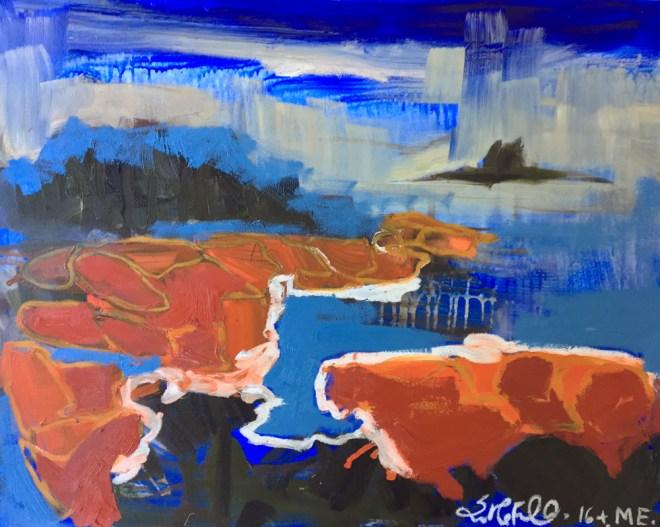Grimes Cove. Erin M Ferrell