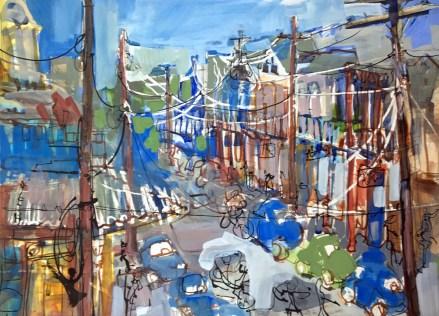 Frenchmens Street. EMFerrell