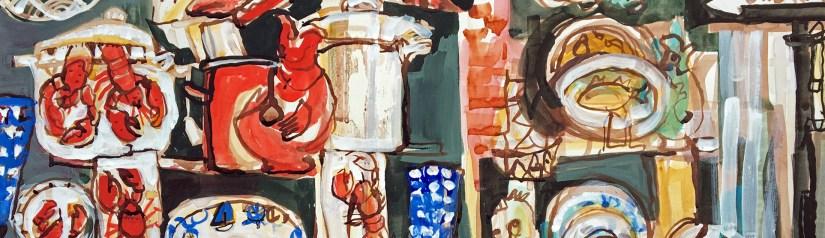 Watercolor Summer. Following Toby Gordon, Miroslav Sasek