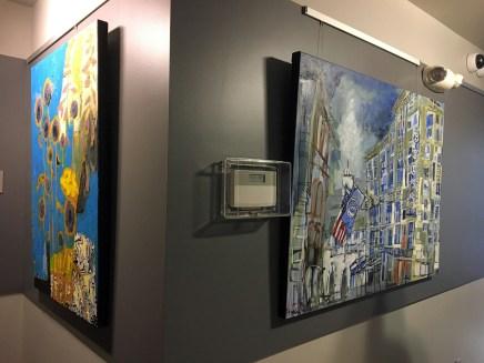 Art Gallery Chestnut Street Lofts. Portland, Maine