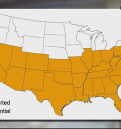 disease carrying kissing bug has made its way north including pennsylvania delaware cdc warns [ 1440 x 810 Pixel ]