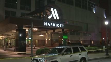 Man shot outside Marriott Hotel in Center City