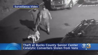 Surveillance Video: Catalytic Converters Stolen From Vans At Bucks County Senior Center
