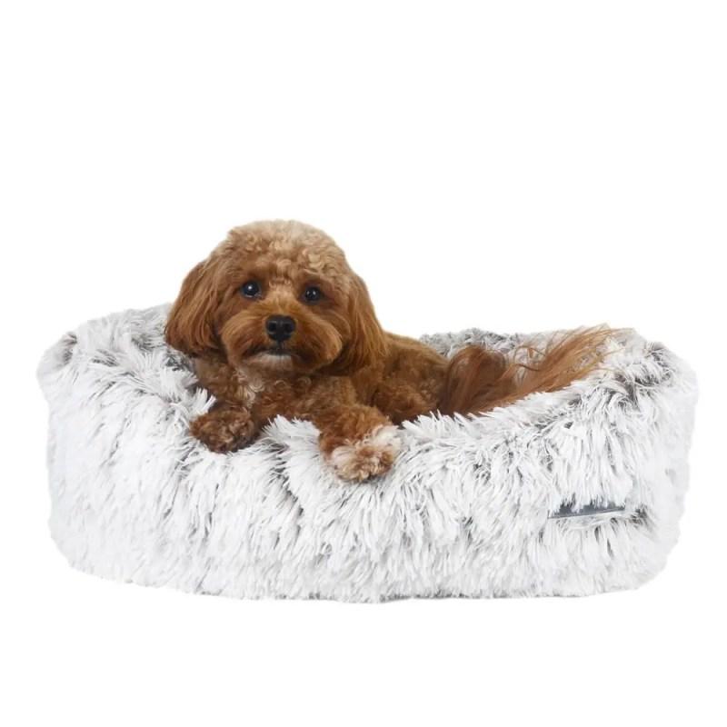 Arctic Shag Napper Pet Bed