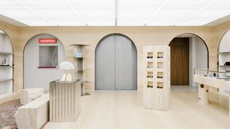 European Courtyard-Inspired Flagship Stores – AMO Designed Off-White's Latest Flagship Store (TrendHunter.com)