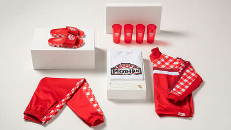 Pizza Brand Streetwear – Pizza Hut Tastewear is a Limited-Edition Capsule Collection (TrendHunter.com)