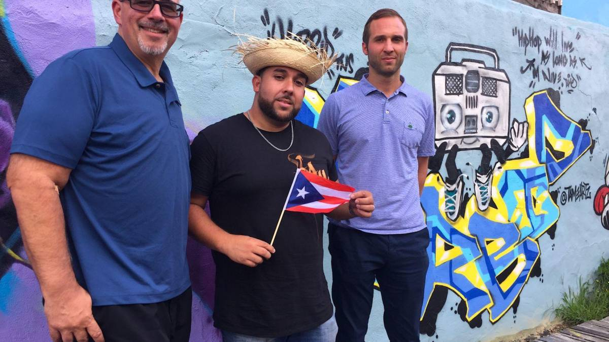"Graffiti artist Christian ""TameArts"" Rodriguez and the crew at Sunflower Philly cordially invite you to dive into all things Latino culture – for a great cause, courtesy of this event, which proceeds benefit those still struggling from the effects of Hurricane Maria. 