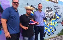 """Graffiti artist Christian """"TameArts"""" Rodriguez and the crew at Sunflower Philly cordially invite you to dive into all things Latino culture – for a great cause, courtesy of this event, which proceeds benefit those still struggling from the effects of Hurricane Maria. 