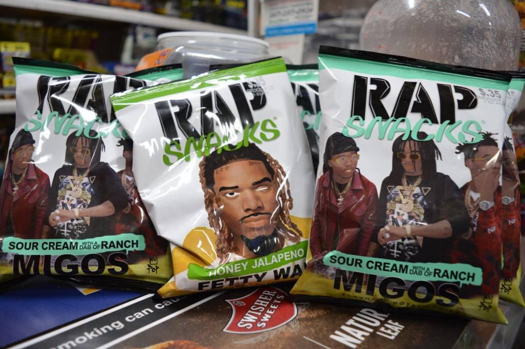 Bags of Rap Snacks