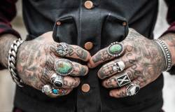 Guy with tattoos