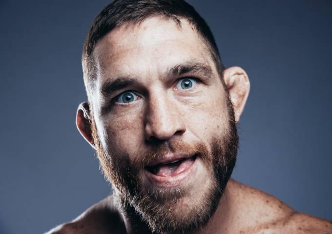Wrestler Tom Lawlor