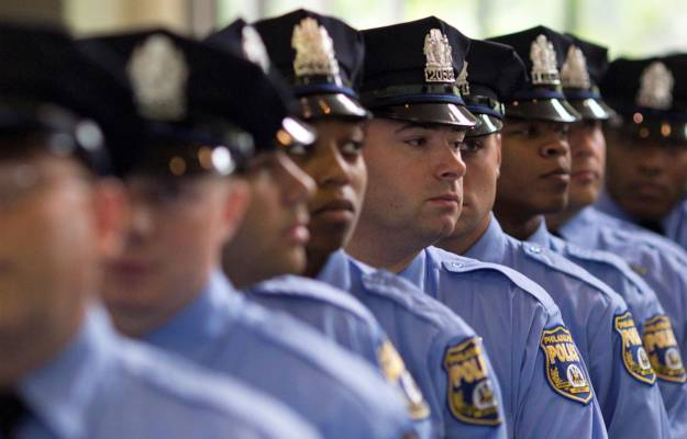 Philadelphia police officers