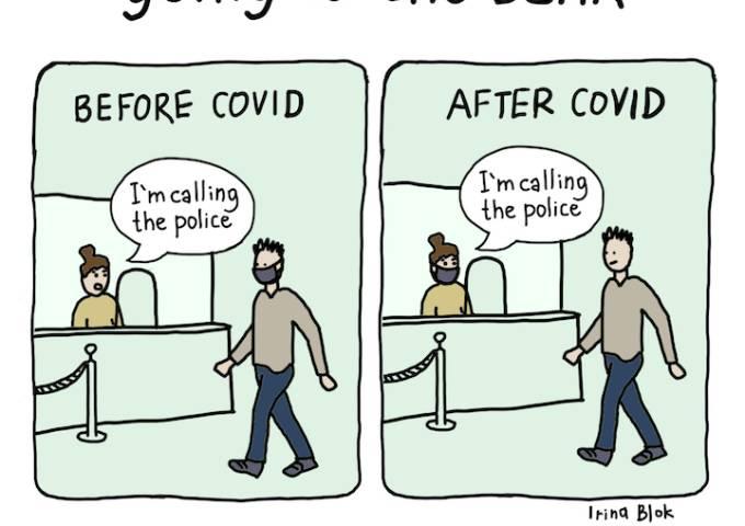 covid cartoon