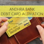 Andhra Bank ATM Card Activation