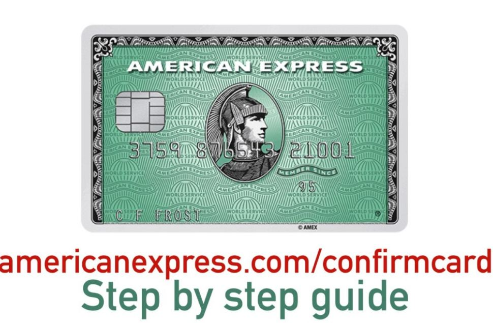 American Express Confirm Card
