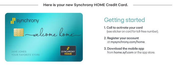 Synchrony Bank Card Activation Guide