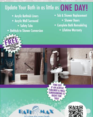 BathMax Newspaper Ad