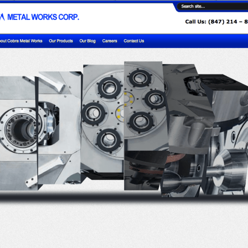 Cobra Metal Works Web Development