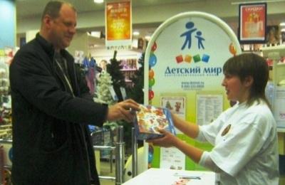 Покупатели «Детского мира» собрали  20 тыс. подарков