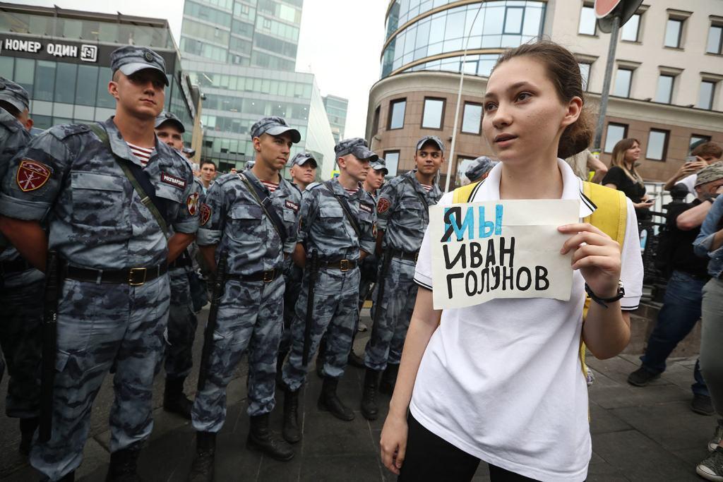 В стране сотни «Иванов Голуновых»: как работает ОВД-Инфо