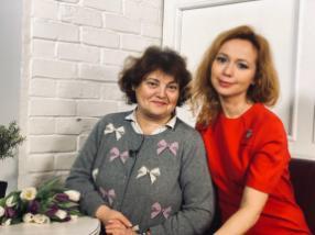 Елена Захарова с мамой