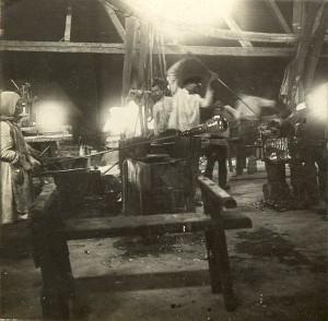 Выработка на одном из заводов Мальцова