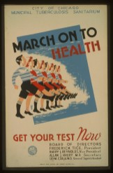 March on to health_TB Poster