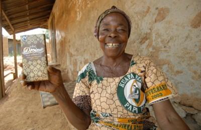 Шоколад Divine, производимый на социальном предприятии в Гане, которое открыл Александр Бэлфор