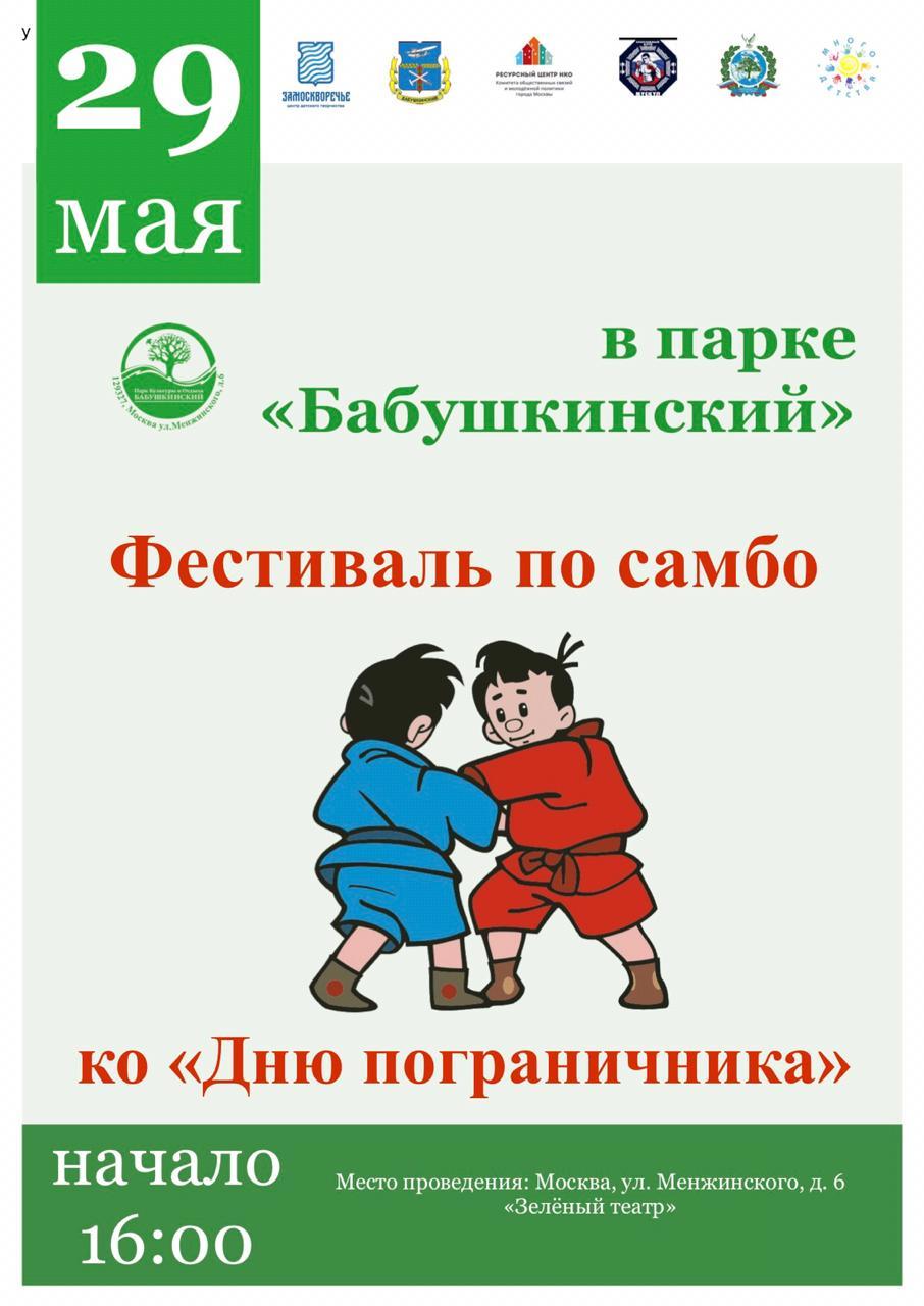 Фестиваль по Самбо в Бабушкинском парке