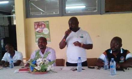 Kwahu United Assoc gives to Kwahu Government Hospital