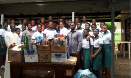 St. Louis SHS students assists Children's Hospital in Kumasi