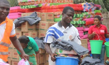 ActionAid Ghana donates relief items to June 3rd flood victims fund
