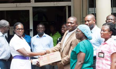 Gold Fields Ghana donates medical supplies to victims of June 3 fire disaster