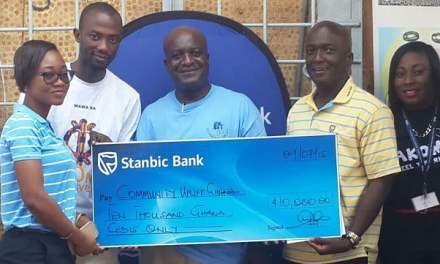 Stanbic Bank supports free eye care for residents in Kotobabi, Accra