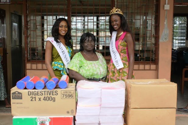 Miss Ghana Foundation donates to Osu Children's Home in Accra