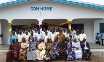 CDH Holdings builds GHC350,000 multipurpose home for Village of Hope orphanage