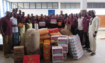 McOttley Holdings donates essential supplies to Dzorwulu Special School in Accra