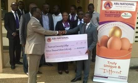 ABii National supports infrastructure project at Pentecost University College