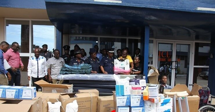 SCOAN and Emmanuel TV partners donate to military and police